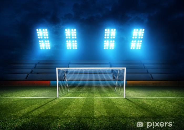 Fototapet Football Stadium Goal • Pixers® - Vi lever för förändring aeb8606b8ff37