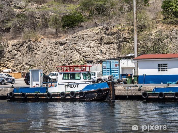 Fototapeta winylowa Port Tour od Willemstad Port Curacao - Akcesoria