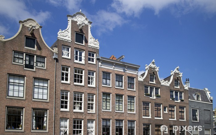 Naklejka Pixerstick Amsterdam architektura - Miasta europejskie