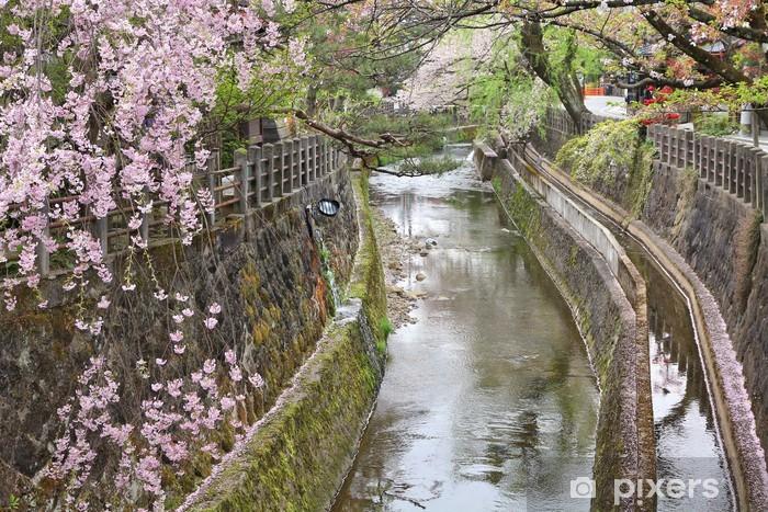 Sticker Pixerstick Fleur de cerisier à Takayama - Asie