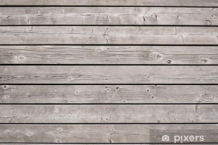 Fotomural Estándar Tablones de madera de fondo - Temas