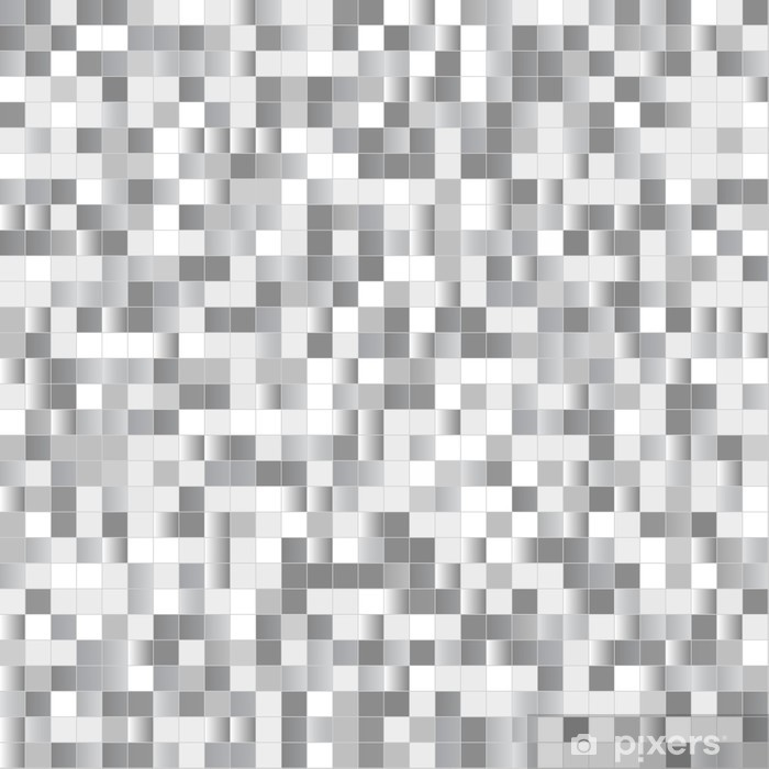 Seamless background with shiny pixels Poster - Backgrounds