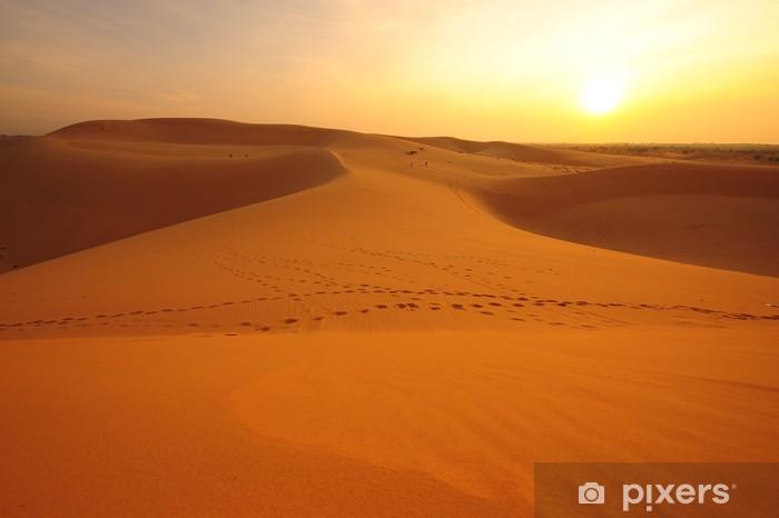 Deserts Landscape Vinyl Wall Mural - Deserts