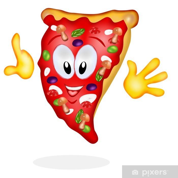 Carta da Parati in Vinile Trancio pizza