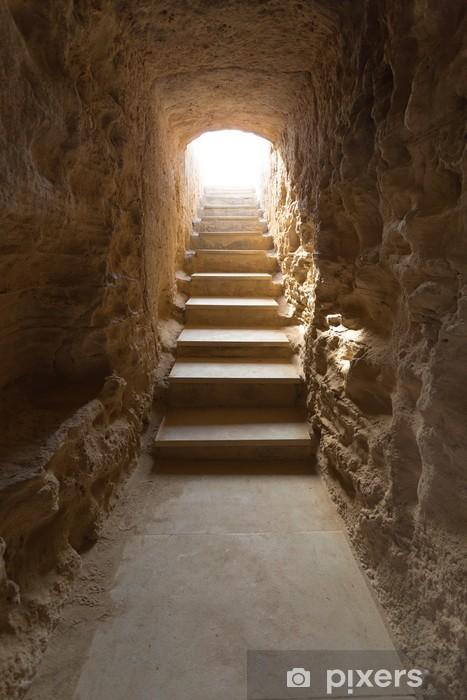 Nálepka Pixerstick Escalier et des couloir Souterrain Tombeaux des Rois - Témata