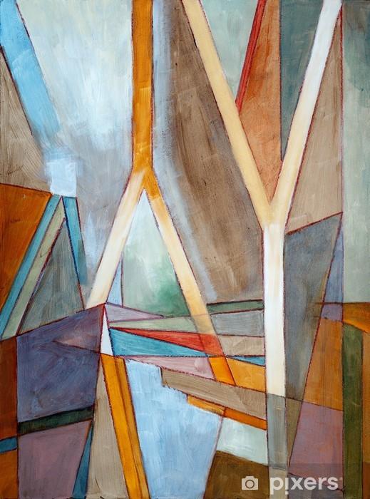 Naklejka Pixerstick Malarstwo abstrakcyjne - Style