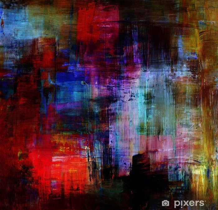 Poster Abstract backgrounds - Kunst und Gestaltung