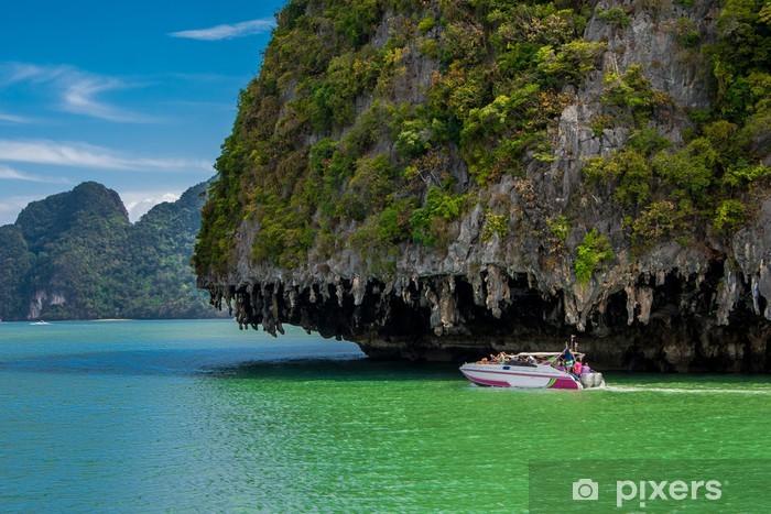 Naklejka Pixerstick Phang Nga Bay, Tajlandia - Miasta azjatyckie