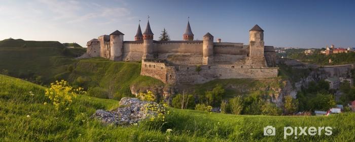 Nálepka Pixerstick Stará pevnost na kopci - Evropa
