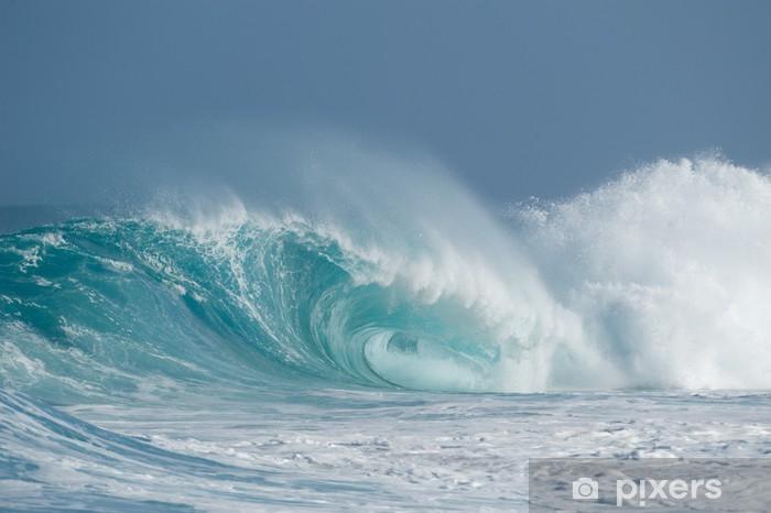 Naklejka Pixerstick Perfect hollow wave - Wakacje