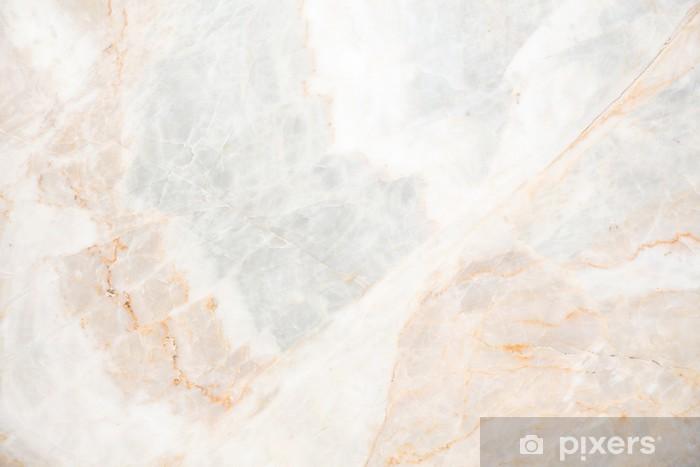 Vinyl Fotobehang Naadloze soft beige marmeren textuur - Grondstoffen
