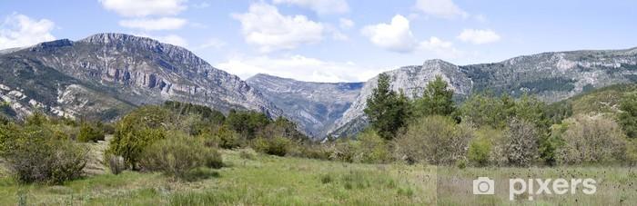 Fototapeta winylowa Verdon naturalny park regionalny, w południowo-wschodniej Francji - Europa