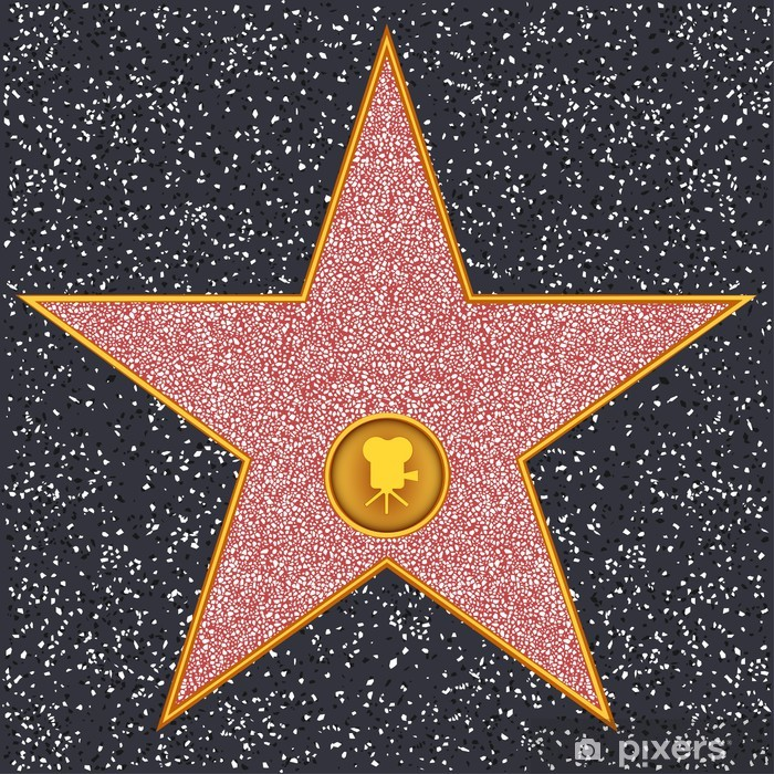 Star Classic film camera (Hollywood Walk of Fame) Poster - Themes