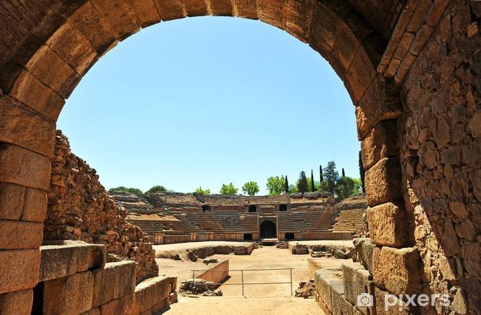 Fototapeta winylowa Rzymski amfiteatr w Merida, Extremadura, Hiszpania - Europa