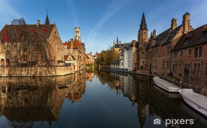 Papier peint vinyle Bruges Belgique - Europe