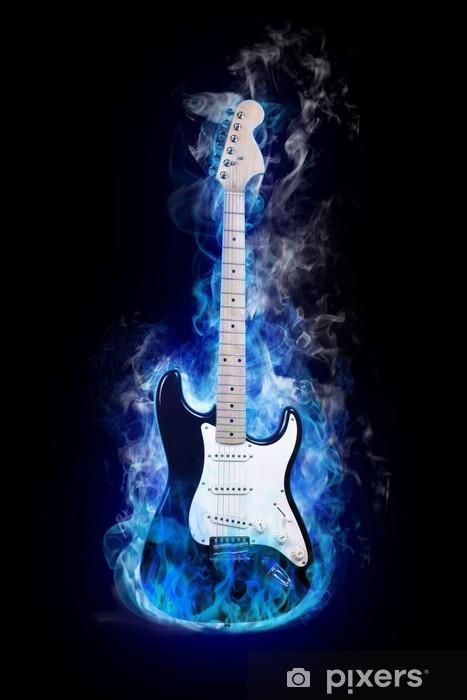 Vinilo Pixerstick Guitar eléctrico - Jazz