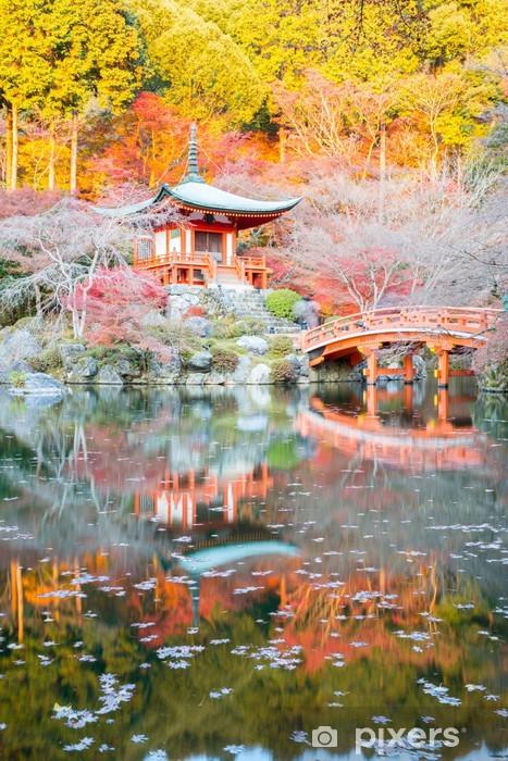 Papier peint vinyle Daigoji Temple de Kyoto - Thèmes