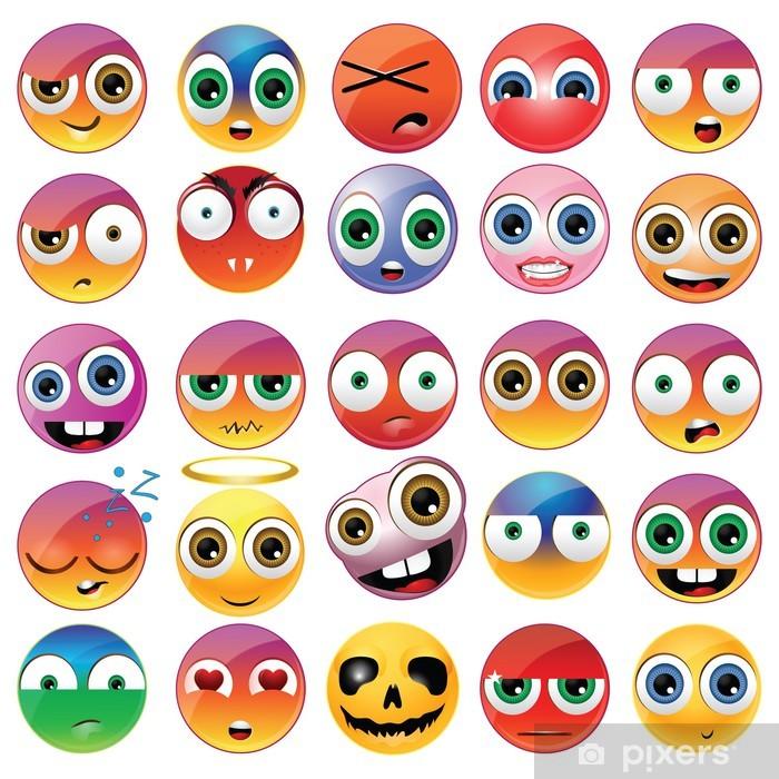 Fototapeta winylowa Śmieszne emoji - Etyka
