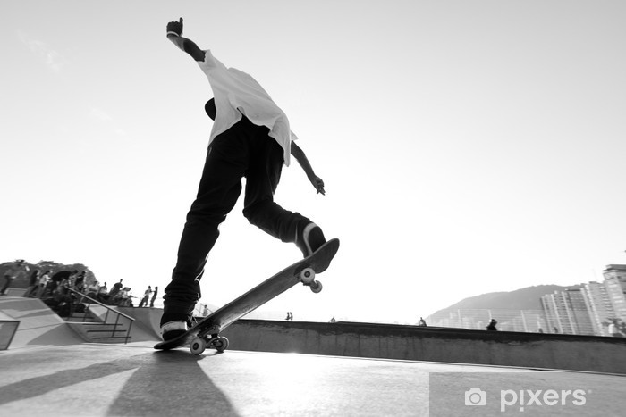 Fototapeta winylowa Radykalne skate - deskorolce - Skateboarding
