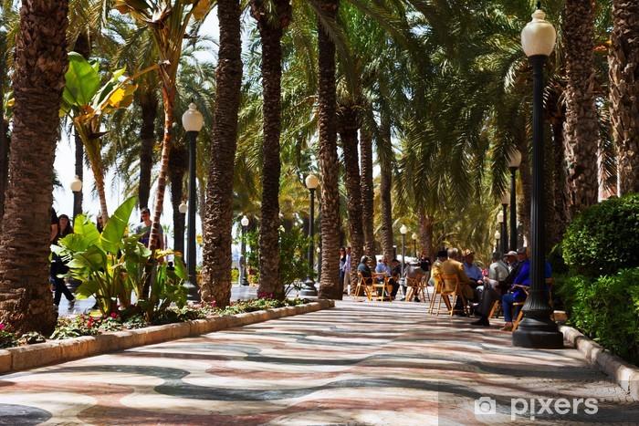 Fototapeta winylowa Espana Esplanade promenady w Alicante - Europa