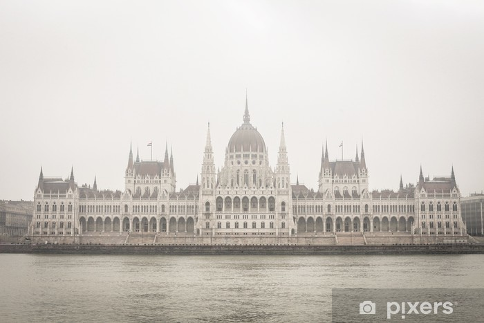 Adesivo Pixerstick Parlamento di Budapest - Europa