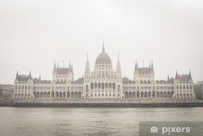 Parliament in Budapest Pixerstick Sticker - Europe