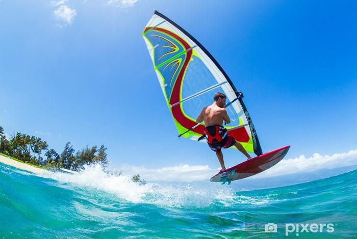Nálepka Pixerstick Windsurfing - Individuální sporty
