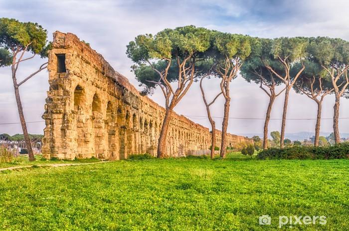 Fototapeta winylowa Park z akweduktów, Rzym - Tematy