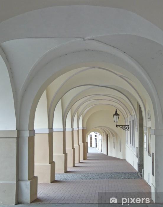 Naklejka Pixerstick Arkady à Mala Strana, Praga - Tematy