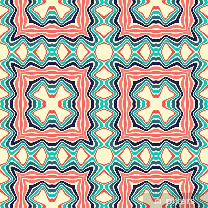 Autocolante Pixerstick Seamless pattern - Fundos