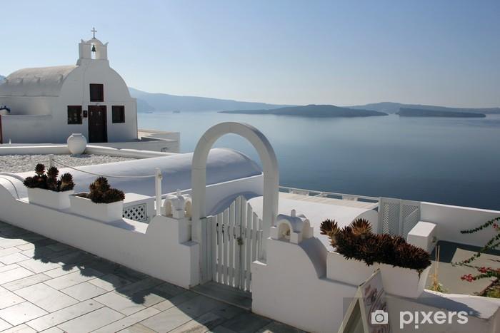 Fototapeta winylowa Santorini, Grecja - Europa