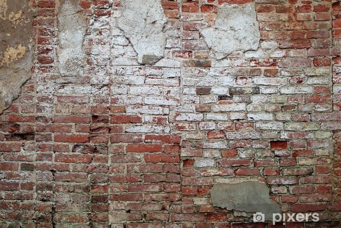 Papier Peint Mur Briques Anciennes Pixers Nous Vivons Pour Changer