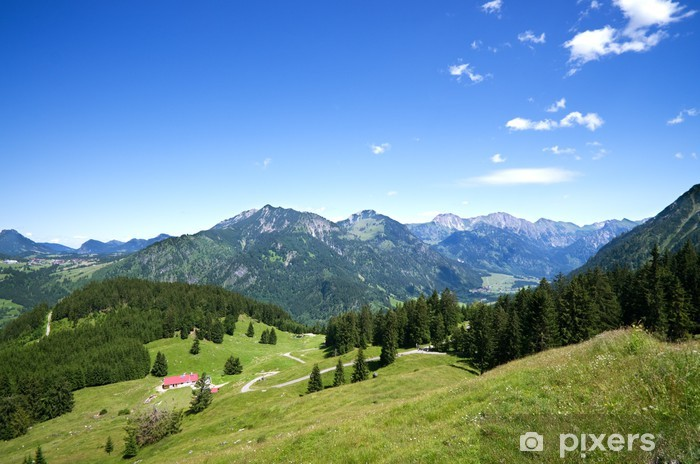 Vinilo Pixerstick Prado alpino allgau alemania - Alemania