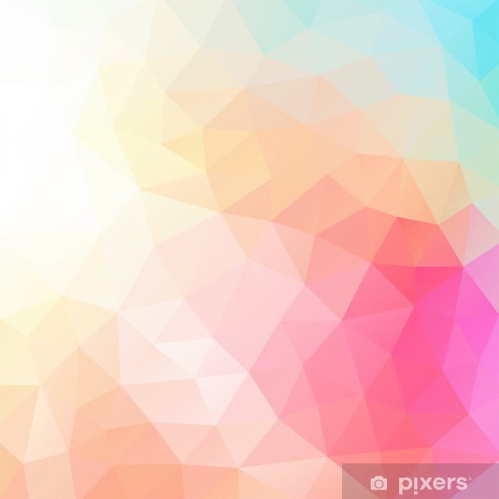abstract background Vinyl Wall Mural - Geometry