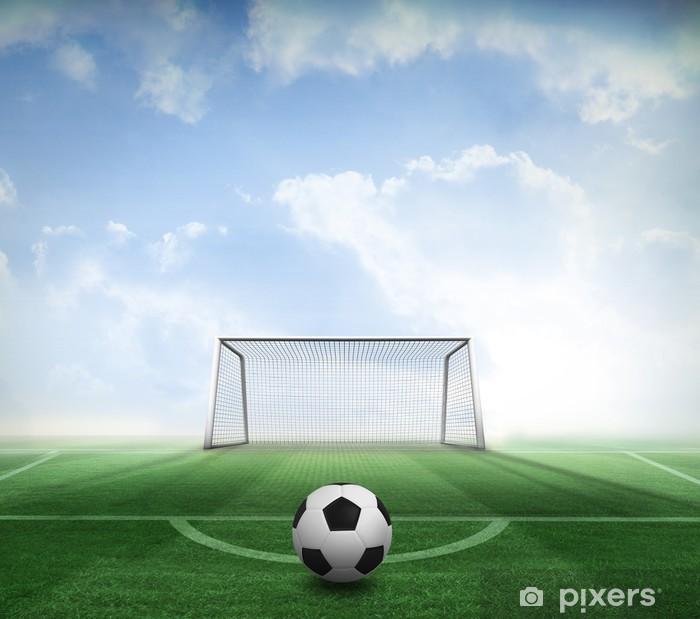 Fototapet Svart och vit fotboll • Pixers® - Vi lever för förändring e4915c6729b35