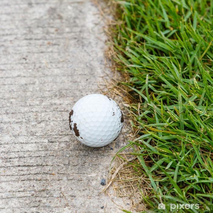 Naklejka Pixerstick Piłka golfowa - Tematy