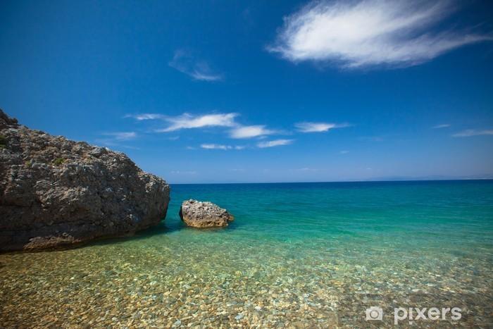 Fototapeta winylowa Plaża żwirowa - Dilek park narodowy, indyka - Woda