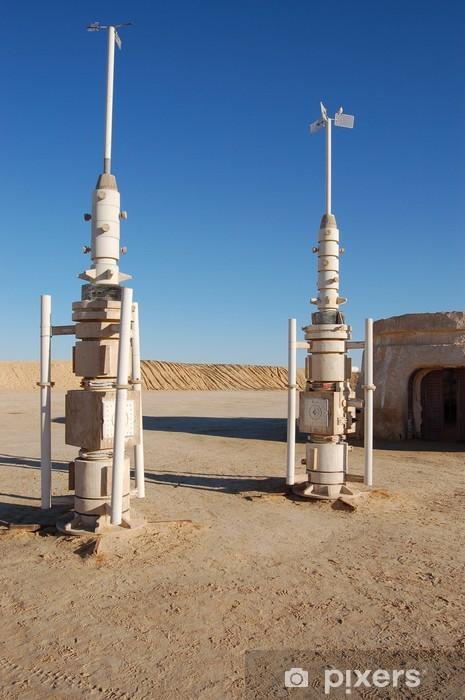 Fototapeta winylowa Zestawy rakietowe z gwiezdnych wojen - Afryka