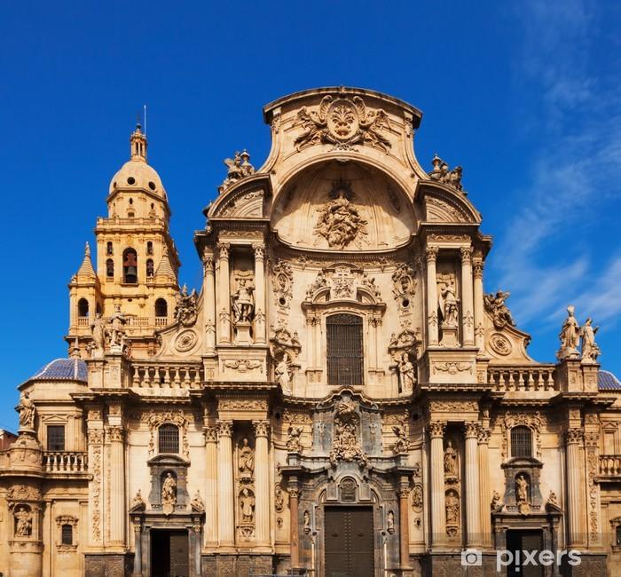 Fototapeta winylowa Cathedral de Santa Maria. Murcia - Europa