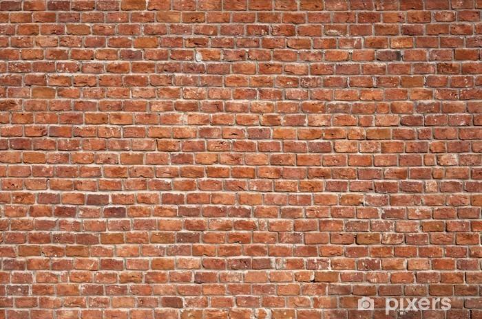 Sticker Pixerstick Mur de briques. Fond - Thèmes