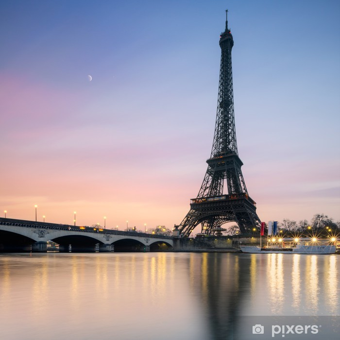 Naklejka Pixerstick Tour Eiffel - Paryż - Francja - Tematy