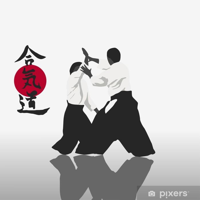 Fototapet av Vinyl Aikido - Teman
