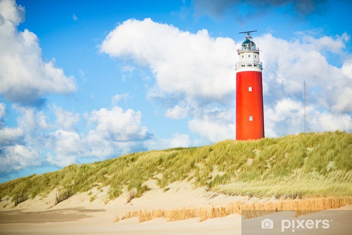 Fototapeta winylowa Texel latarni - Latarnia morska