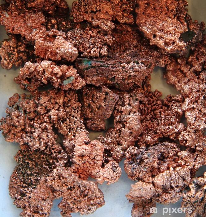 Sticker Pixerstick Minéraux de cuivre naturelles - Textures