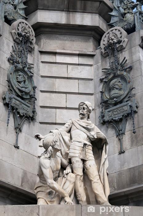 Fototapeta winylowa Barcelona Christopher Columbus - Zabytki