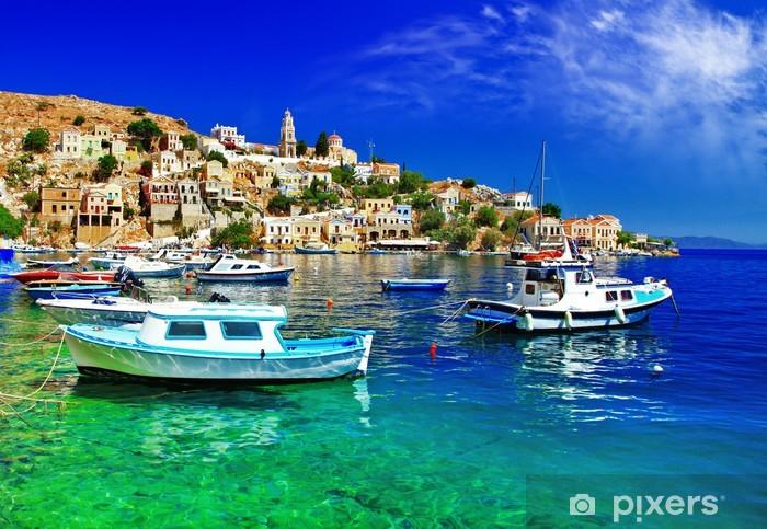 Fototapeta winylowa Grecja obrazowym seria-wyspa Simi, Dodecanes - Tematy