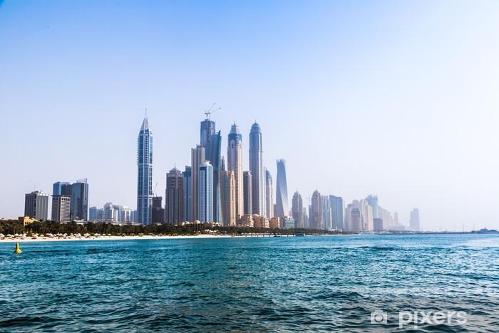 Nálepka Pixerstick Dubaj Marina panoráma, Spojené arabské emiráty - Střední Východ