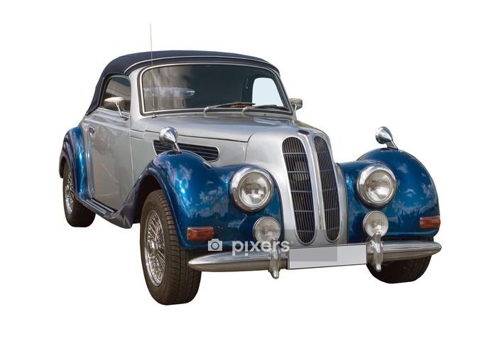 Veggklistremerke Oldtimer, Classic Car, Cabriolet -