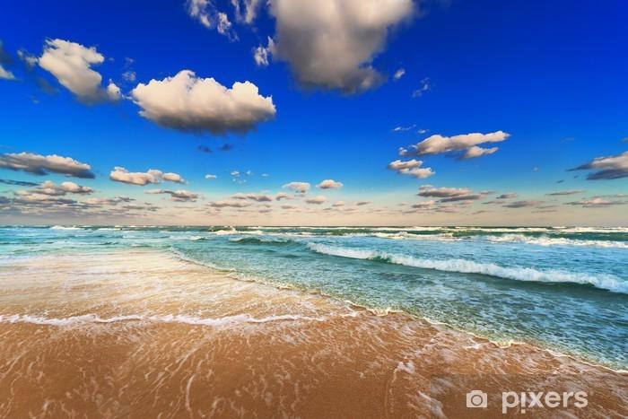 fototapete himmel meer und strand • pixers®  wir leben