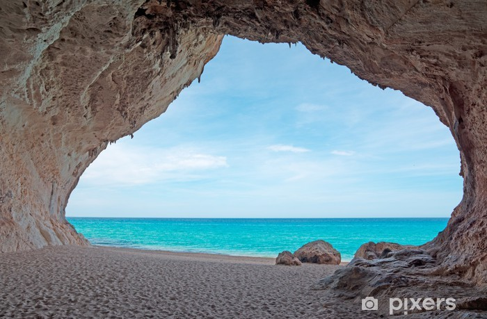 Fototapeta samoprzylepna Cala jaskinia luna - Tematy